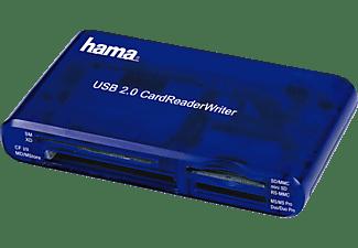 HAMA USB-2.0-Multi-Kartenleser 35in1, Blau