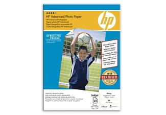 HP Advanced Photo Paper Gloss A4 250g (25 vel)