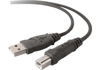 BELKIN USB 2.0 Kabel, Stecker A-B, 3 m Verbindungskabel