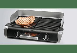 TEFAL TG 8000 BBQ Family Elektrogrill, Schwarz (2400 Watt)