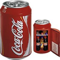 MOBICOOL 525600 Coca cola Can 10 Kühlbox (, Rot)