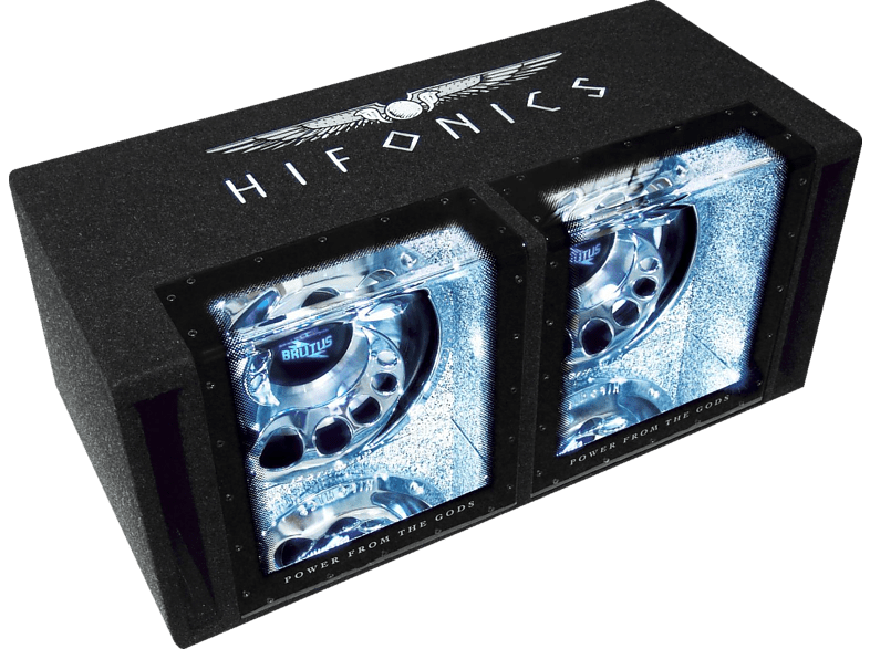 HIFONICS BXI12DUAL Dual Gehäusesubwoofer Passiv