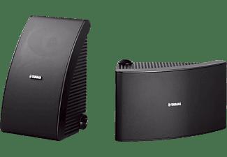 YAMAHA NS-AW392 1 Paar Outdoor Lautsprecher, Schwarz