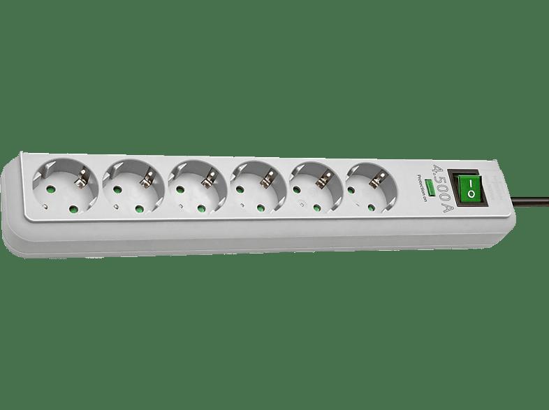 BRENNENSTUHL 1159750015 Eco-Line Überspannungsschutz-Steckdosenleiste