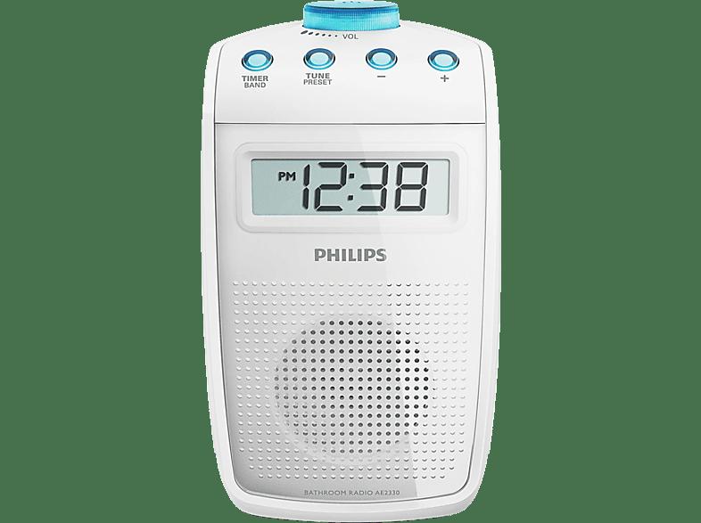 Badezimmer Radio Philips Ae2330 Badezimmer Radio Digital Weiss Digital Mediamarkt