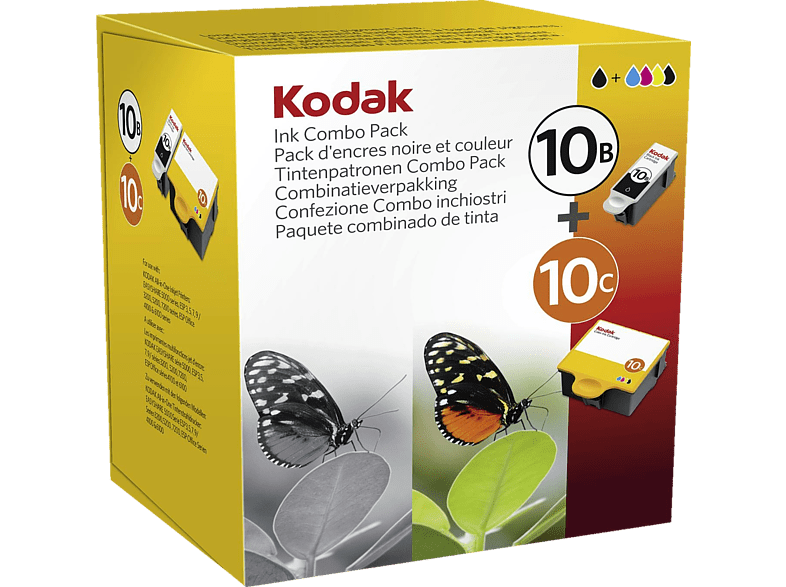 KODAK 10B+10C Tintenpatrone Combo-Pack mehrfarbig (3949948)