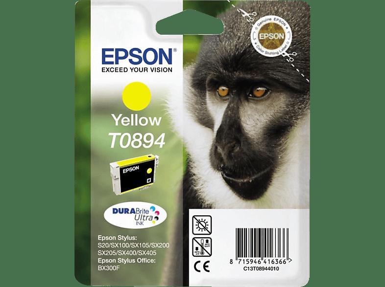EPSON Original Tintenpatrone Affe Gelb (C13T08944011)