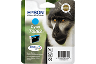 EPSON Original Tintenpatrone Affe Cyan (C13T08924011)