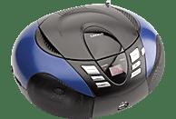 LENCO SCD-37 Radiorecorder, Blau