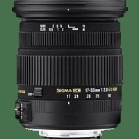 SIGMA 17-50 mm F2.8 EX DC OS HSM 17 mm-50 mm f/2.8 EX, DC, HSM, OS (Objektiv für Canon EF-Mount, Schwarz)
