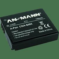ANSMANN 502278305 PAN CGA-S005 Akku  , Li-Polymer, 3.7 Volt, 1150 mAh