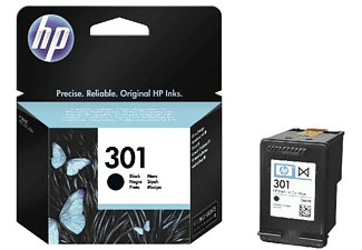 HP INK CARTRIDGE 301 BLACK - Tintenpatrone (Schwarz)