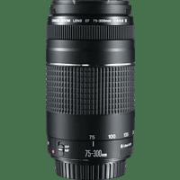CANON EF III 75 mm-300 mm f/4-5.6 EF (Objektiv für Canon EF-Mount, Schwarz)
