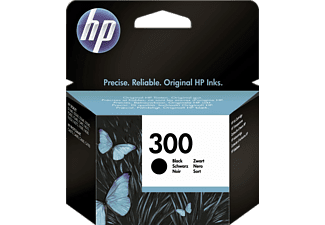HP Tintenpatrone Nr. 300, schwarz (CC640EE)