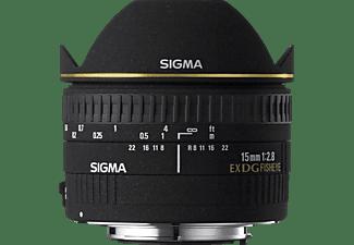 SIGMA 476944 - 15 mm f/2.8 EX, DG (Objektiv für Nikon F-Mount, Schwarz)