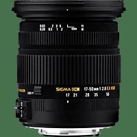 SIGMA 583955 17 mm-50 mm f/2.8 EX, DC, HSM, OS (Objektiv für Nikon F-Mount, Schwarz)