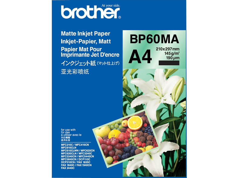 BROTHER BP60MA Inkjet Papier A4
