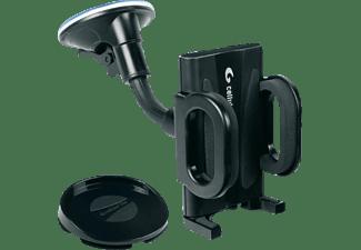 Soporte de movil universal para coche - Cellular line BIGCRABDUALFIX, negro