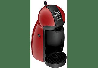 Cafetera de cápsulas - Nescafé Dolce Gusto Krups Piccolo KP1006, 1500W, 15 bar, Thermoblock, Roja