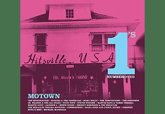 VARIOUS - MOTOWN NO.1S  - (CD)