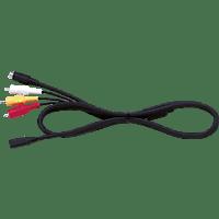 SONY VMC-15FS, AV-Kabel, Schwarz, passend für Sony NEX-VG20, NEX-VG30, NEX-VG900, HDR-PJ10, HDR-PJ10E, HDR-CX100, HDR-CX110, HDR-CX130