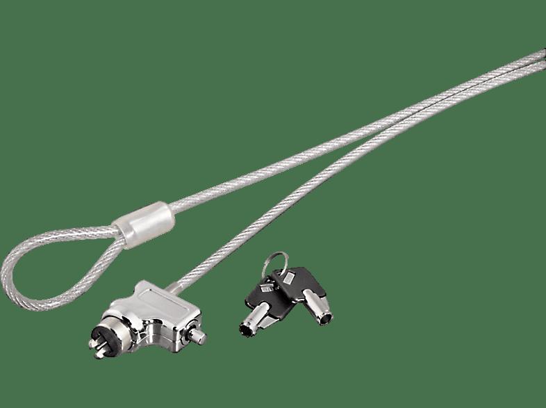 HAMA Notebookschloss mit Schlüssel Light, Kabelschloss