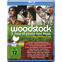 Woodstock - 3 Days of Peace and Music [Blu-ray]