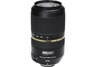 TAMRON SP 70 mm - 300 mm f/4-5.6 Di, SP, USD (Objektiv für Nikon F-Mount, Schwarz)