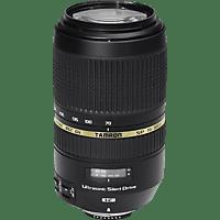 TAMRON SP 70 mm-300 mm f/4-5.6 Di, SP, USD (Objektiv für Nikon F-Mount, Schwarz)