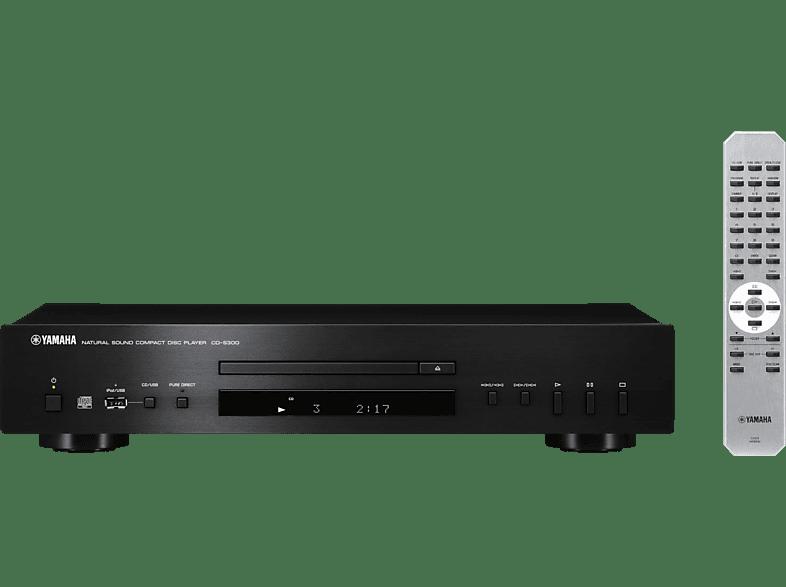 YAMAHA CD-S300 CD Player (Schwarz)