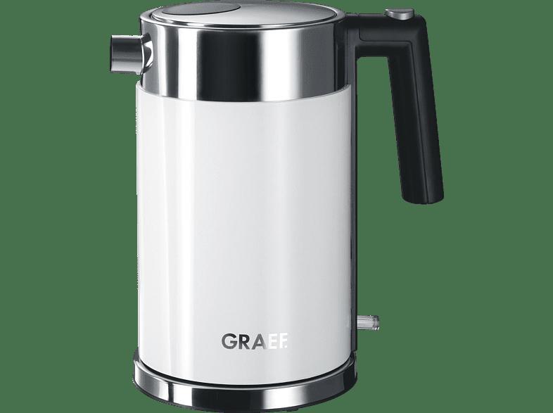 GRAEF WK 61 EU Wasserkocher, Acyrl/Weiß
