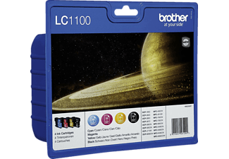 BROTHER LC-1100 VALBPDR Tintenpatrone mehrfarbig (LC-1100VALBP)