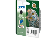 EPSON Original Tintenpatrone Eule Schwarz (C13T07914010)