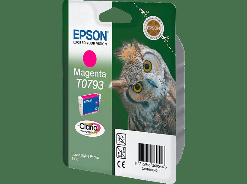 EPSON Original Tintenpatrone Eule Magenta (C13T07934010)