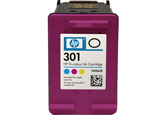 HP INK CARTRIDGE 301 TRICOLOR - Tintenpatrone (mehrfarbig)