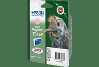EPSON Original Tintenpatrone Eule Light Magenta (C13T07964010)
