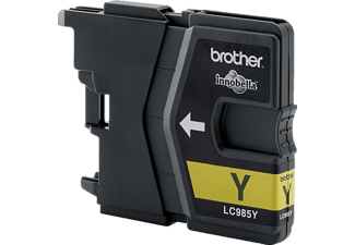 BROTHER Tintenpatrone LC 985 Y Gelb