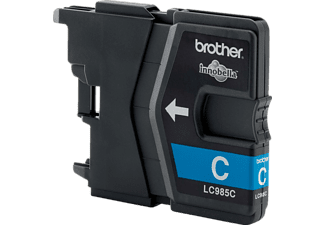 BROTHER Tintenpatrone LC 985 C Cyan