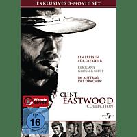 Clint Eastwood Box (Ein Fressen für die Geier / Coogans großer Bluff / Im Auftrag des Drachen) [DVD]