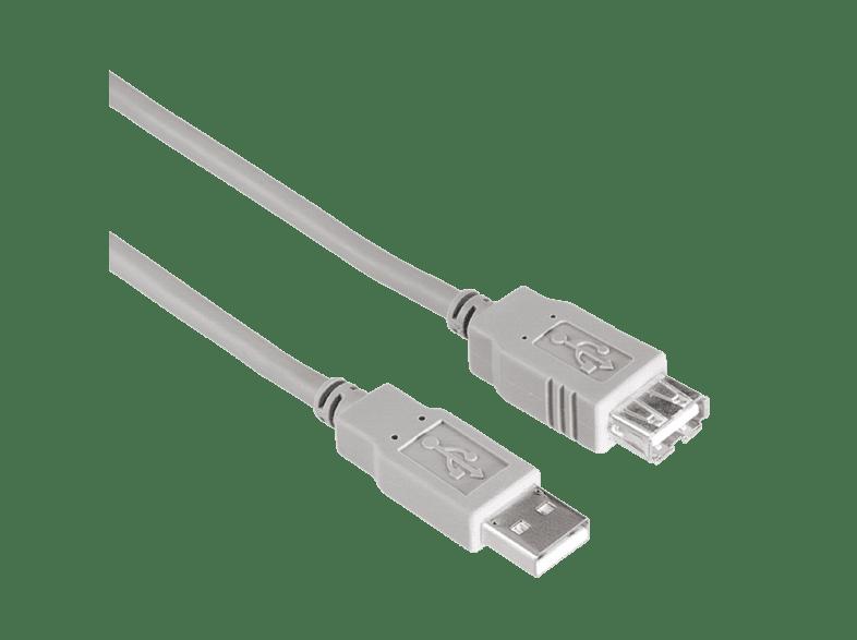 HAMA USB 2.0 verlengkabel standaard 1,5m