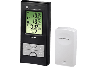 HAMA EWS-165 Electronic Weather Station, Black - (92659)
