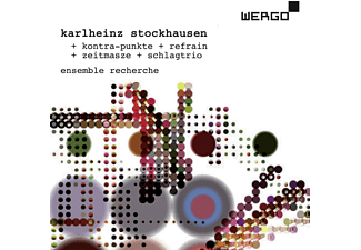 Ensemble Recherche, Rupert Huber - Kontra-punkte/Refrain/Zeitmasze/Schlagtrio  - (CD)