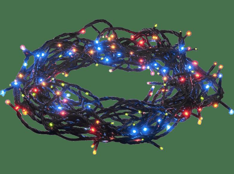 KONSTSMIDE 3630-500  LED Lichterkette,  Schwarz,  Mehrfarbig