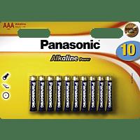 PANASONIC LR03APB/10BW AAA Micro Batterie Alkaline 10 Stück
