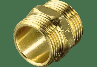 XAVAX Messing  Zulaufschlauchverbinder