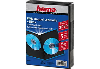 HAMA 04751183 DVD SLIM DO-HOEZEN ZW. 5 P.