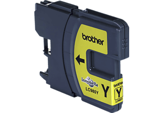BROTHER Tintenpatrone LC-980 Y Gelb