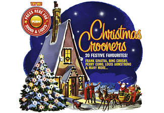 VARIOUS - Christmas Crooners (Sound & Lights)  - (CD)