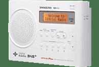 SANGEAN DPR-69+ DAB+ Radio (DAB, Weiß)