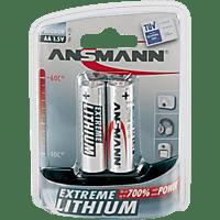 ANSMANN 5021003 AA Mignon Batterie Lithium 2 Stück